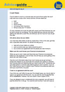 Court Fines Guide